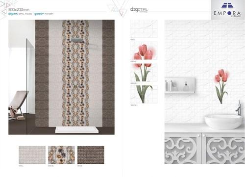 Decorative Glossy Tiles 20x30