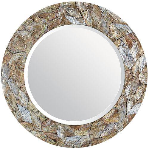 Round Shape MOP Mirror