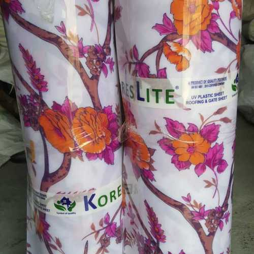 Floral Printed PP Roofing Sheet