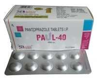 Paul-40 Tablet (Pantoprazole Tablets 40 mg)