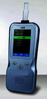 Alcohol Breath Analyser A20