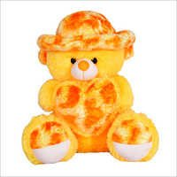 Teddy Bear With Yellow Cap