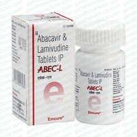 ABEC-L Lamivudine 300 mg & Abacavir 600 mg Tablet