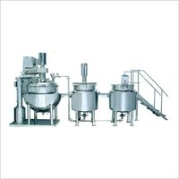 Automatic Ointment Plant