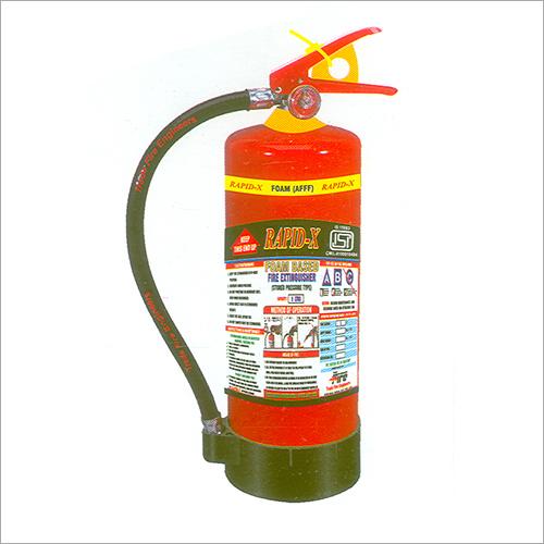 Rapid X Foam Based Extinguishers
