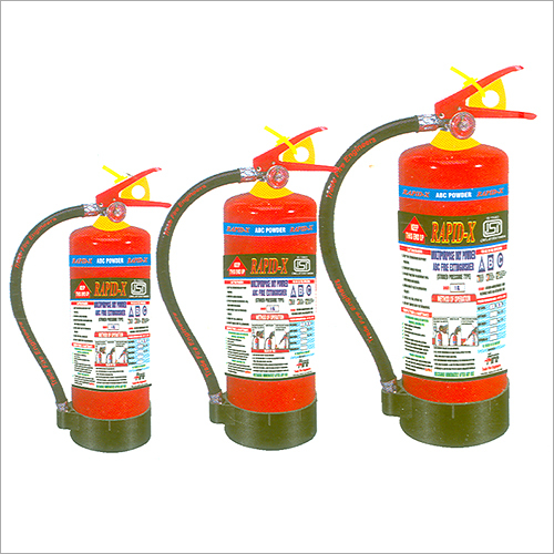 ABC Multipurpose Dry Powder Portable Fire Extinguisher