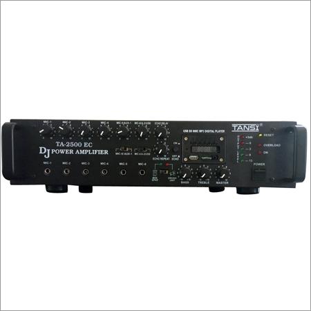 TANSI TA -2500 EC DJ Power Audio Amplifier 250 Watt