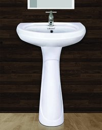 Repose Pedestal Wash Basin Set
