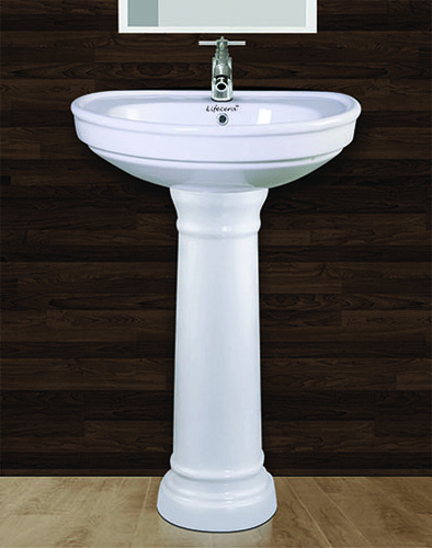 Sonata Pedestal Wash Basin Set