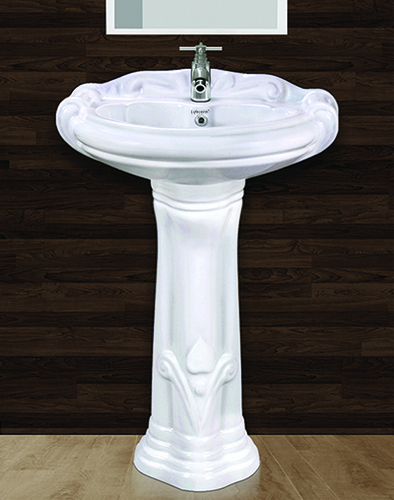 Sterling Pedestal Wash Basin Set