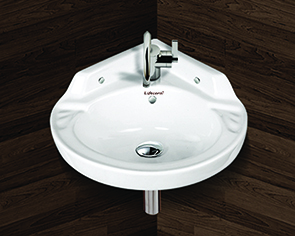 Corner Wall Hung Wash Basin
