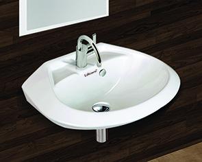 Round Wall Hung Wash Basin 18