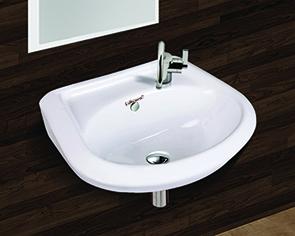 Round Wall Mounted Wash Basin