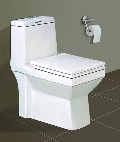 One Piece Square Type Toilet