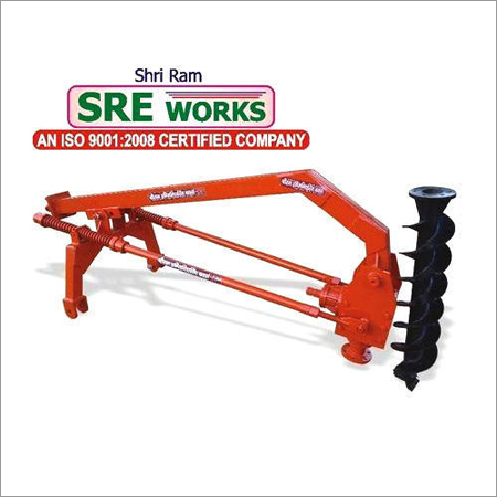Non Hydraulic Tractor Post Hole Digger
