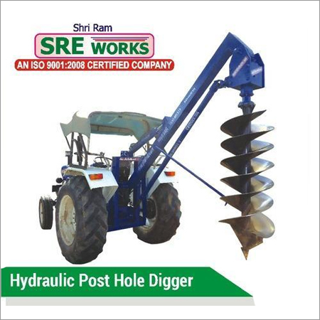 Hydraulic Tractor Post Hole Digger