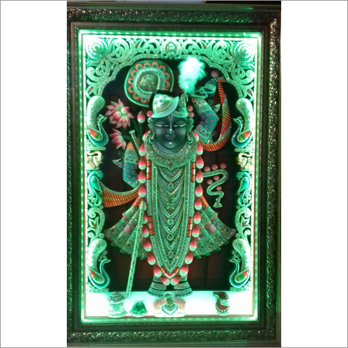 Silver Wood Ambose Antique Shreenath Ji