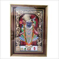 Silver Wood Ambose Shreenath Ji