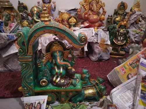 Jade Stone Ganesh