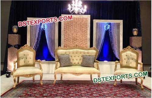 Unique Reception Wedding Stage