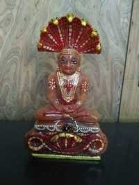 Red Jade Stone Jain Parshwnath