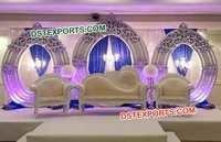 Beautiful Wedding Oval Panels