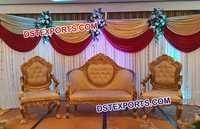 Royal Wedding Stage Sofa Set