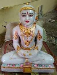 White jade jain mahavir swami