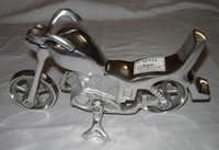 Brass Motorcycle Decor