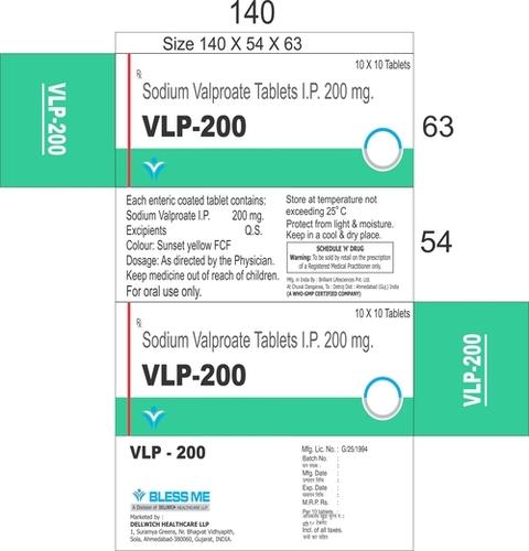 Sodium Valproate 200