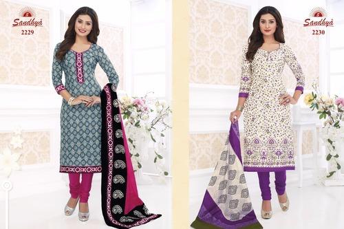 Sandhya Cotton Printed Dress Material