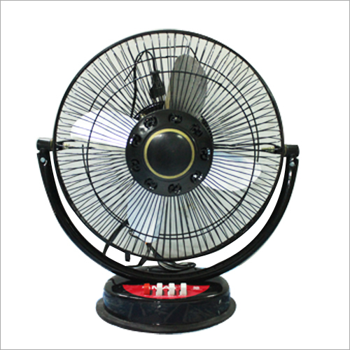 Steel Blade Table Fan
