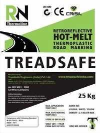 THERMOPLASTIC1 ROAD MARKING