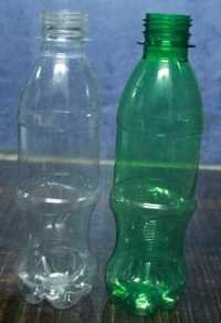 Plastic biodegradable bottles