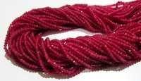 Ruby Onyx Beads