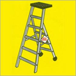 Aluminium Ladder Cum Stool