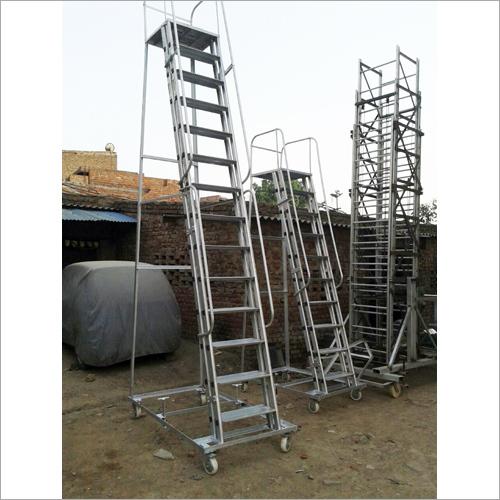 Aluminum Platform Ladders