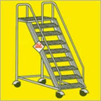 Aluminium Wide Step Ladder