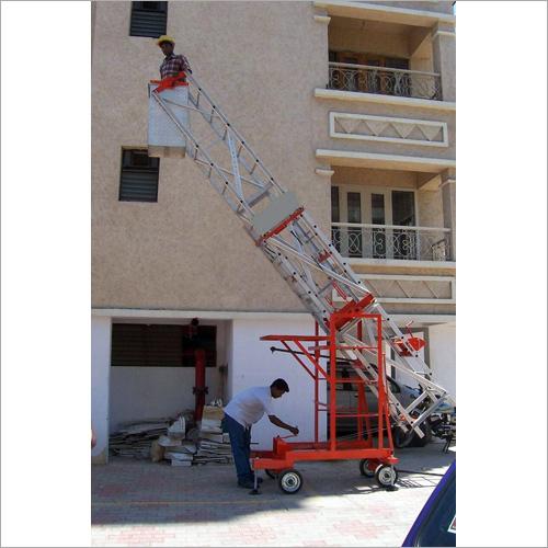 Moving Platform Ladder
