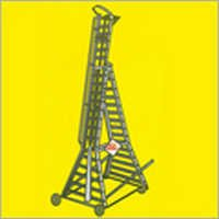 Aluminum Self Supporting Extention Ladder