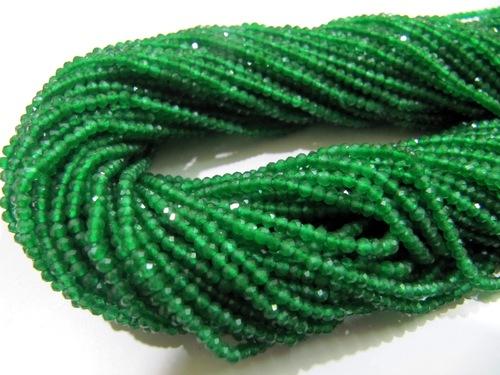 Fancy Emerald Beads