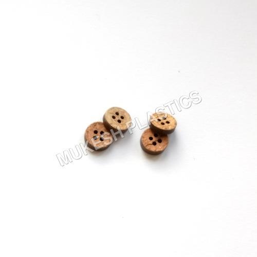 4 Holes Round Coconut Button