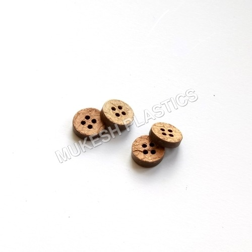 4 Hole Coconut Shell Buttons
