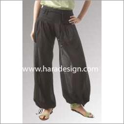 Casual drawstring trouser