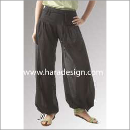 Casual drawstring trouser