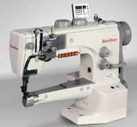 Semi-direct drive, cylinder bed, 1-needle, unison feed, lock stitch sewing machine