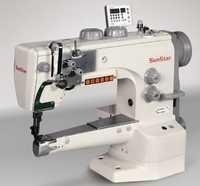 Semi-direct drive, cylinder bed, 1-needle, unison feed, lock stitch sewing machine