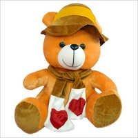 K Cap Teddy Bear