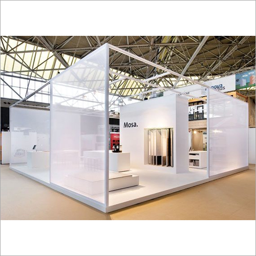 Exhibition Stall Fabrication : Promotional exhibition stall fabrication services in badarpur
