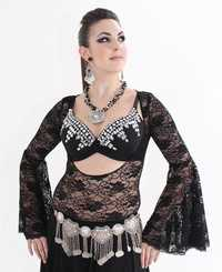 Belly Dance  Black Chain Belt Costumes